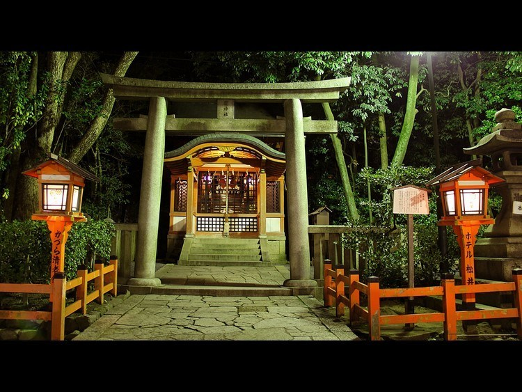A local shrine